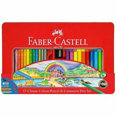 Faber-Castell 53 Piece Tin Set