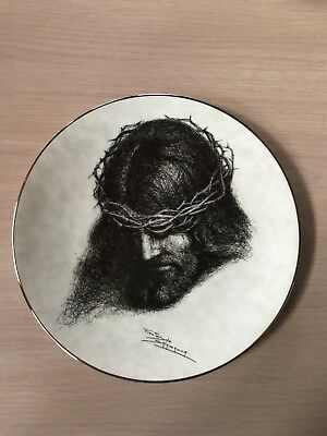 "Portraits Of Christ Plate ""Father, Forgive Them"""