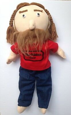 """Willie Nelson & Family General Store Plush Doll 16"""" Stuffed Doll"""