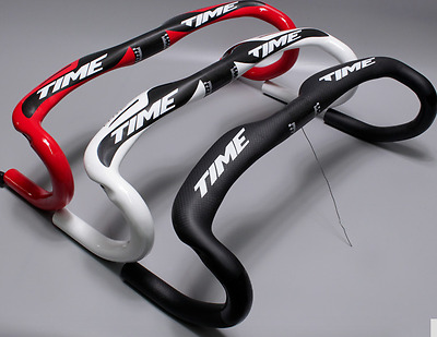 MANILLAR CARBONO CARRETERA Road carbon Handlebar. TIME. 210gr 440-420-400mm