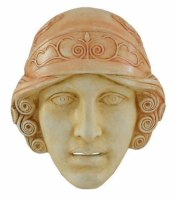 Goddess Athena Mask - Ancient Greek Theatre - Protector Of Athens