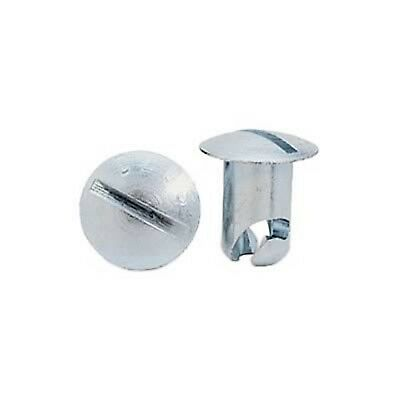 Moroso  Quick Fasteners Fastener Head Steel Cadmium Plated Oval Slotted 0.500 in