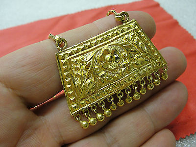 22K Gold Exquisite Indian Asian Necklace 27.5 Gramm