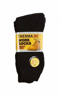 New 3 Pairs Mens Thermal Heavy Duty Warm Work  Crew Socks Size 9-13 Fashion Lot