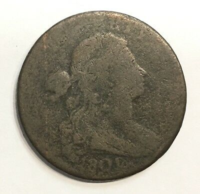 1801 Draped Bust Large Cent Copper Penny