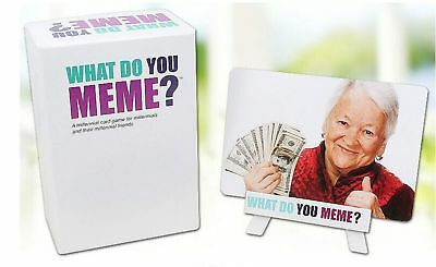 What Do You Meme Adult Social Media Card what do you meme? basic bitch pack social media card funny party
