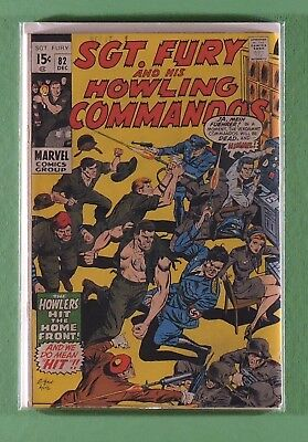 Sgt. Fury and his Howling Commandos #82 (Marvel, December 1970)