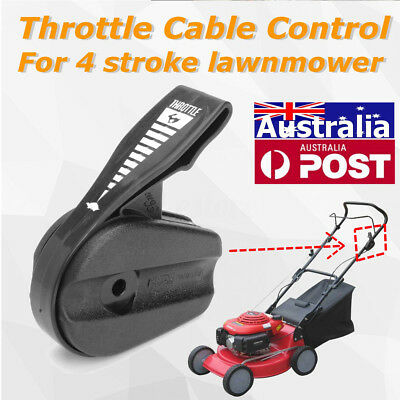 Black Plastic Throttle Cable Control Controller for ROVER 4 Stroke Lawnmower