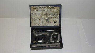 Imperial Eastman Tubing Double Flaring Tool Kit 93FB Brake Trans Fuel Line  USA