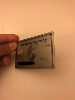 American Express Business Platinum Voided