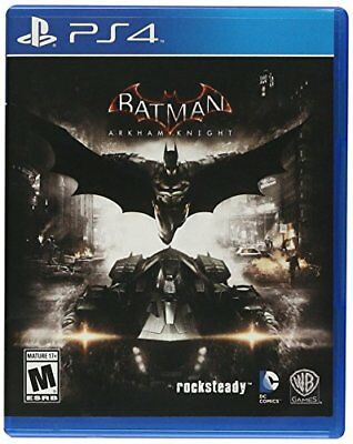 Batman Arkham Knight  PlayStation 4 PS4 Soft NEW e