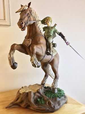 Ultra Rare Limited Link on Epona Zelda Twilight Princess F4F Statue Figure NEW