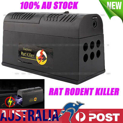 Mice Rat Mouse Killer High Voltage Electronic Repeller Electric Trap Pest