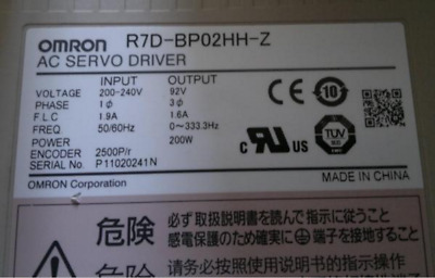 1 PC Used Omron Servo Drives R7D-BP02HH-Z  with 60days warranty