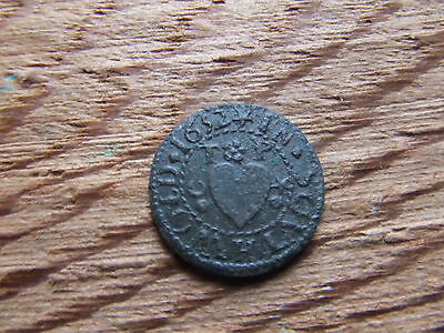Suffolk.    Southwold.  1652,  Farthing Token.        Superb Condition.