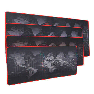 Large World Map Game Mouse Pad Mat Laptop Gaming Mousepad Rubber Mouse Pads US