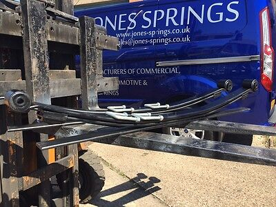 Iveco Daily Very HD 2+1 Rear Springs and U Bolts up to 2006 Replaces Single Leaf