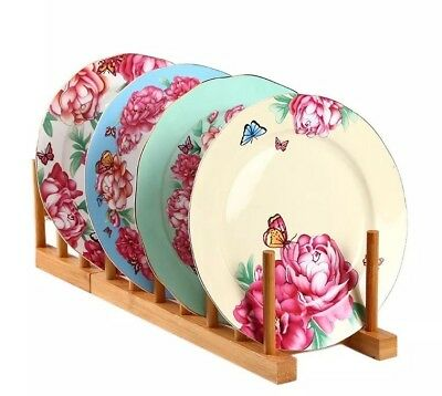 Miranda 4 Pieces pastry plates/tea plates/White, Blue, Green And Yellow/DISCOUNT