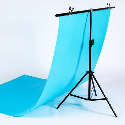 Adjustable Background Support Stand Photo Backdrop Crossbar Kit Photography HYE