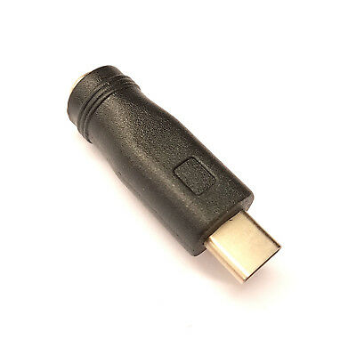 DC 5.5MM x 2.1MM to USB 3.1 TYPE C MALE CONNECTOR ADAPTER ANDROID SMARTPHONE ETC