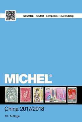 Michel; Neuester CHINA Briefmarken-Katalog 2017/18, Band 9/1, Originalverpackt