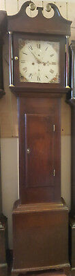 19th Century Mahogany Grandfather Clock. Delivery Arranged