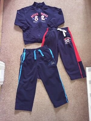 Boys Age 5 Years Store Twenty One Tracksuit Joggers Bundle 3 Items