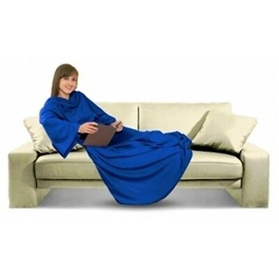 Couch Cozie Blanket Snuggle Wrap with sleeves choice of colour