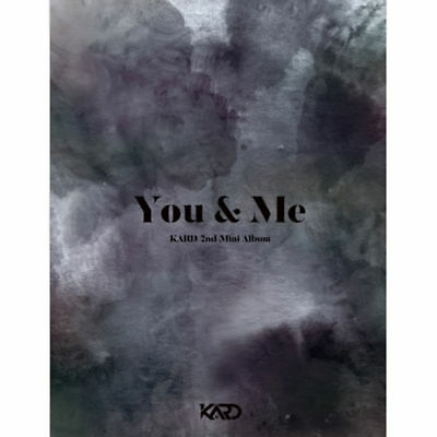 KARD - YOU & ME (2nd Mini Album), CD + Photobook + Photocard + Poster