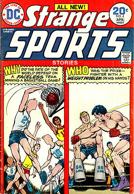 Strange Sports Stories #4 (1974) DC Comics - ( Mid Grade )