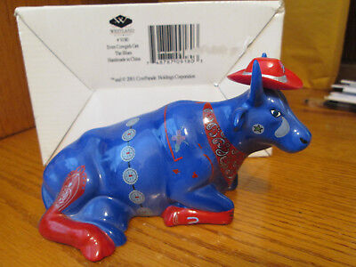 Cow Parade Figurine, Even Cowgirls Get the Blues # 9180 Retired 2001