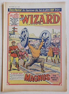 THE WIZARD #1794 - 2nd July 1960