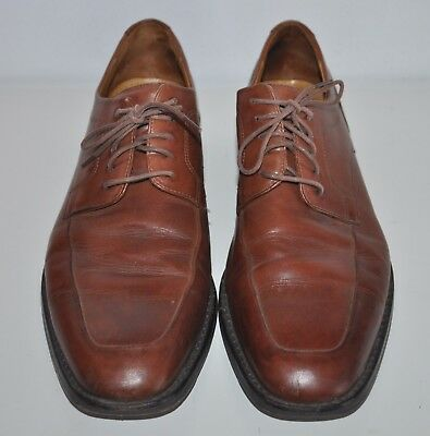 COLE HAAN Light Brown Genuine Leather Dress Shoes mens 9M C06598