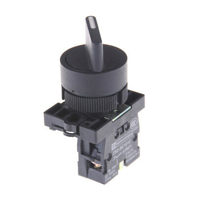 XB2-ED21 On/Off 2 Position Rotary Select Selector Switch 1 NO 10A 600V AC TX PL