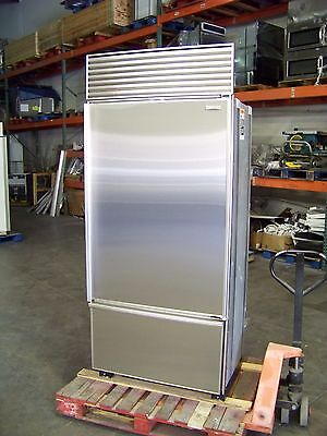 Sub Zero Model 650 36 No Flaw Stainless Btm Freezer Mount 48