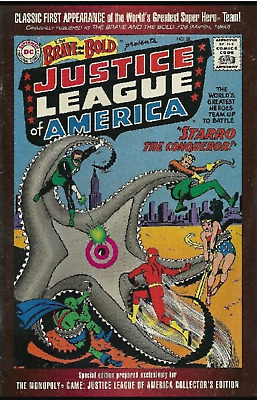 DC BRAVE and the BOLD #28 Presents JUSTICE LEAGUE of AMERICA reprint