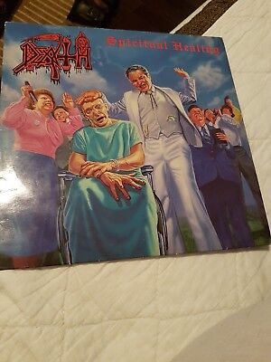 Death Spiritual Healing Vinyl LP under one Flag 1990