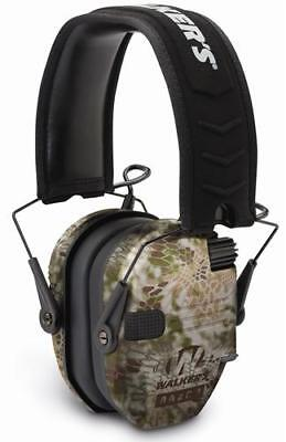 Walker's Razor Series - Slim Shooter Folding Electronic Muff - Kryptek Camo