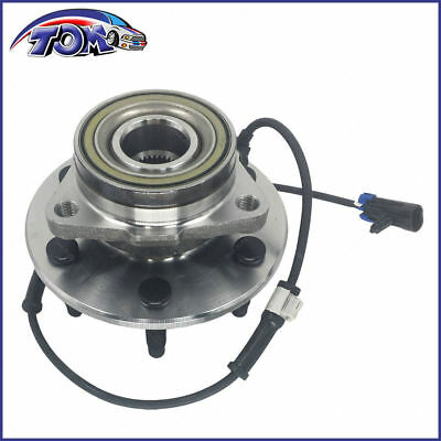 Brand New Front Wheel Hub&bearing W/ Abs For Chevy Gmc Pickup Truck 4X4 4Wd Awd