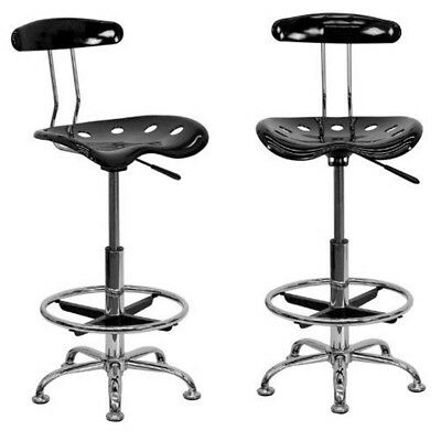 Counter Height Bar Stool Wood Kitchen Office Swivel Stool Chair Seats Furniture