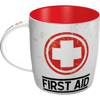 Nostalgic-Art - Becher - First Aid - Keramik