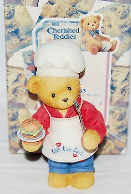 "Cherished Teddies Figure, ""You Put The Spice In My Life"", #510963, 1999, NEW, 4"""