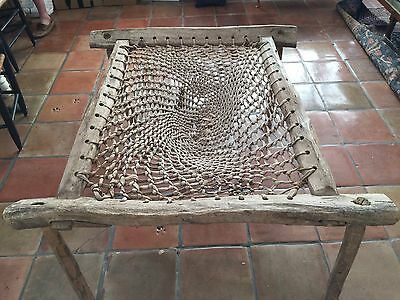 Native American/Early Settler Artifact/Furniture/Antique Hand Carved Mid 1800's