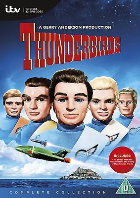 Thunderbirds: The Complete Collection DVD Box Set - NEW - FREE DELIVERY