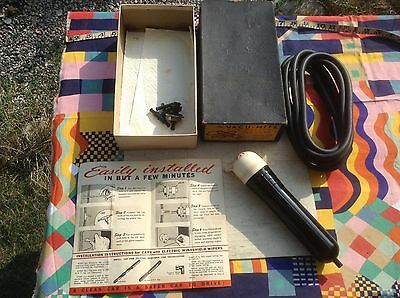 PRICE CUT! NOS NIB vtg Vacumite 30s car 'vacuum vacuum' cleaner works via wipers