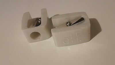 e.l.f. ELF Cosmetics White Essentials Pencil Sharpener x 2