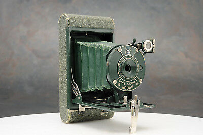 "- Rare Kodak ""Girl Scout Kodak"" Camera, Sirls Scout Green"