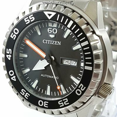 CITIZEN BRAND NEW MEN'S AUTOMATIC 100m DAY/DATE WATCH NH8388-81E