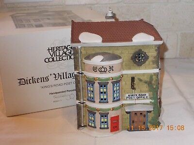 "Dept. 56 Dickens' Village - "" King's Road Post Office "" - #58017"