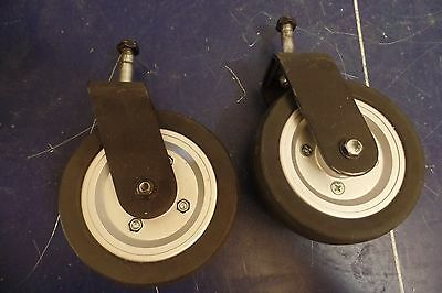 """Pride Jazzy Select + Others Power Wheelchair 6"""" x 2"""" Caster Wheel Assembly #441"""